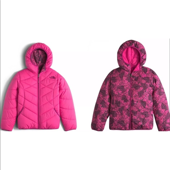 f3299b879b73 Girl s The North Face Reversible Perrito Jacket